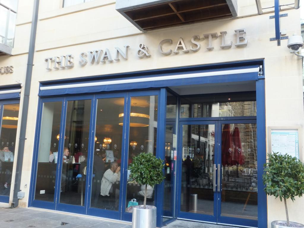 The Swan and Castle in Oxford