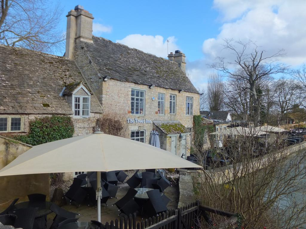 The Trout Inn in Oxford