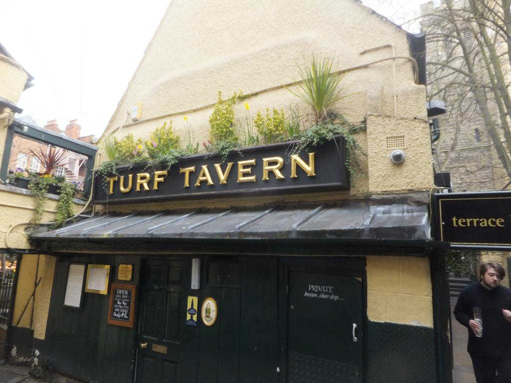 The Turf Tavern in Oxford