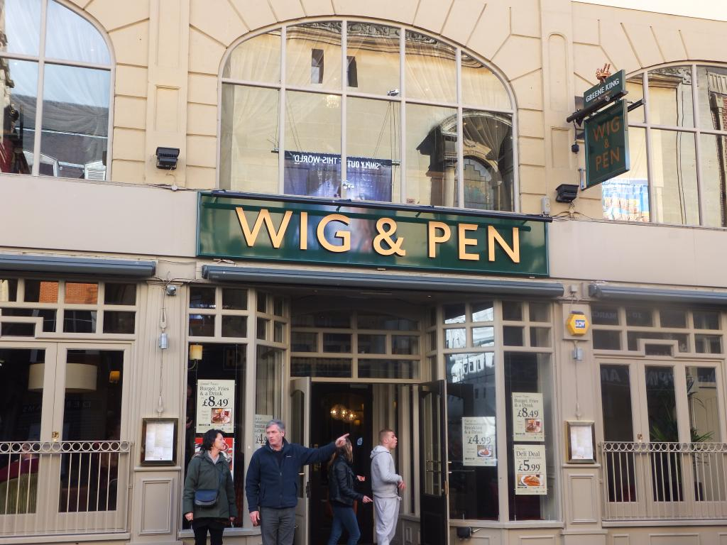 The Wig and Pen Oxford