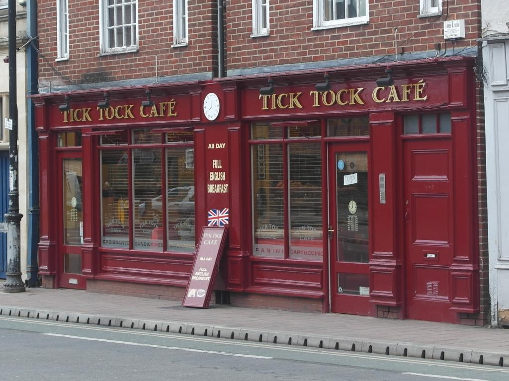 Tick Tock Cafe in Oxford