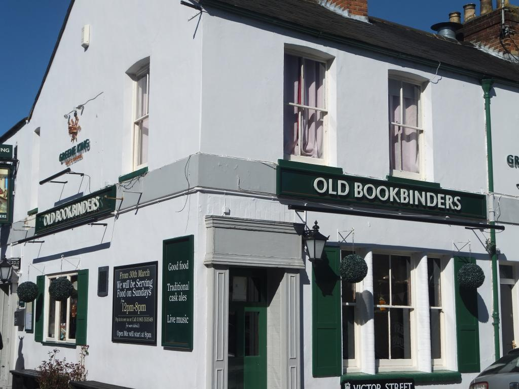 Old Bookbinders Oxford