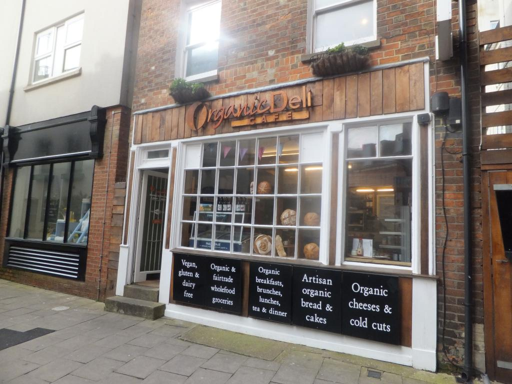 Organic Deli Cafe in Oxford