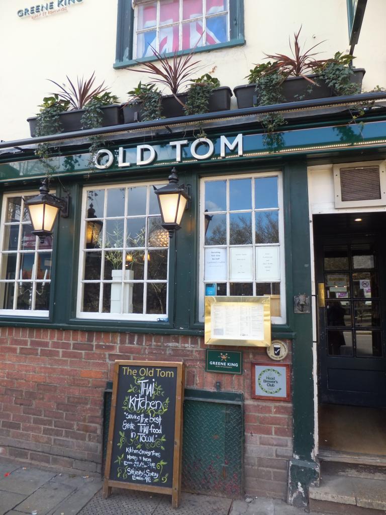 The Old Tom in Oxford