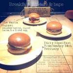 The Rickety Press Breakfast Buns