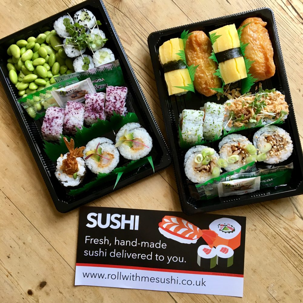 Roll With Me Sushi Delivery