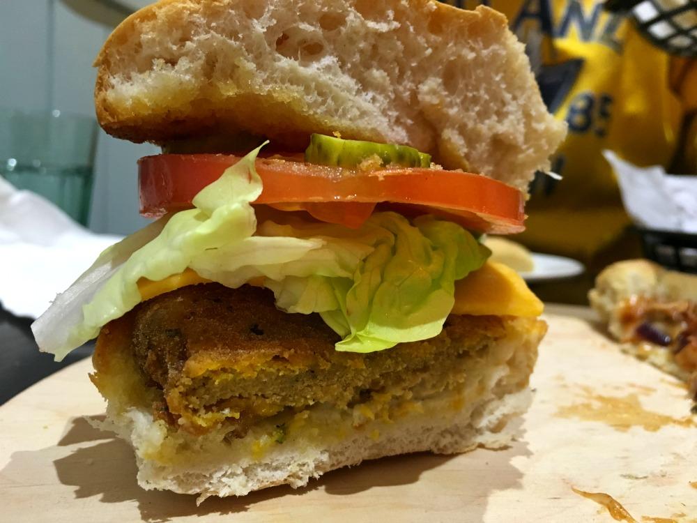 Happy Friday Kitchen 'Happy Fryday Burger'