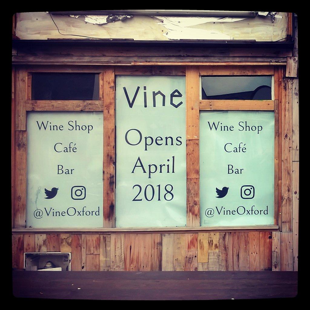 Vine Oxford Opening Soon