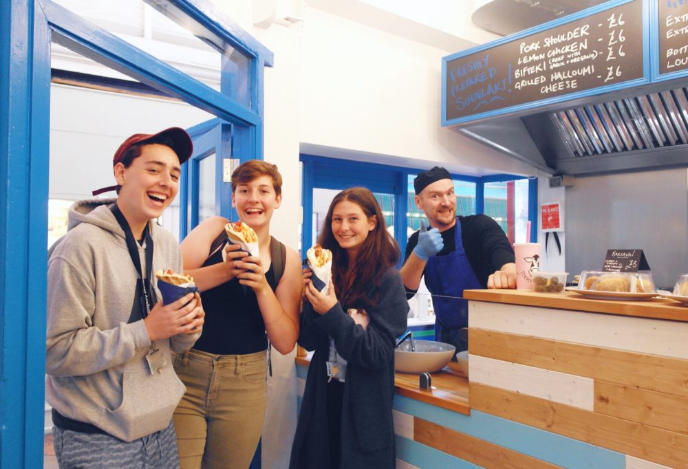 Souvlaki Brothers at Oxford Covered Market | Image Credit Bitten Oxford