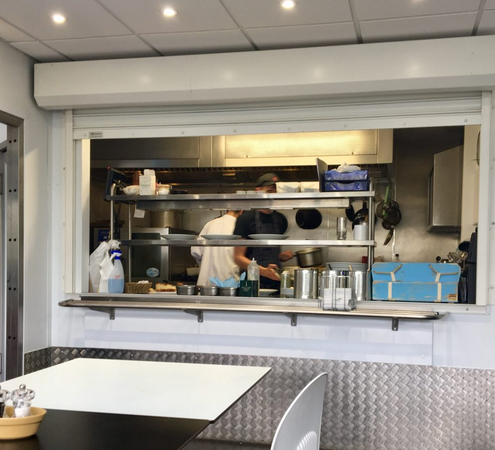 Osney Food Shed Kitchen | Image Credit Bitten Oxford