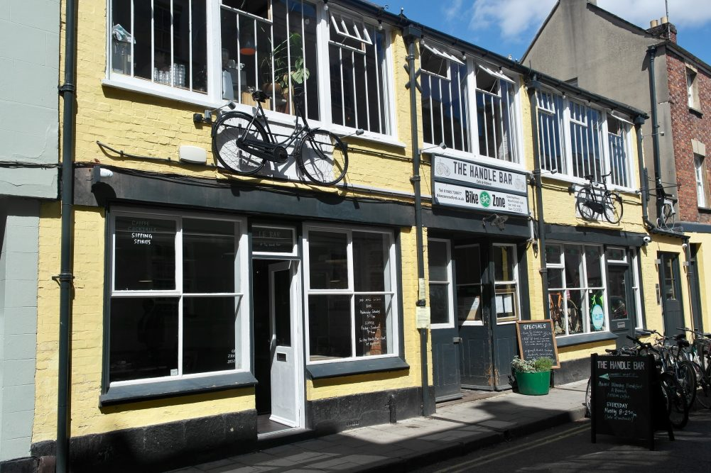 The Handlebar Cafe and Kitchen & Le Bar