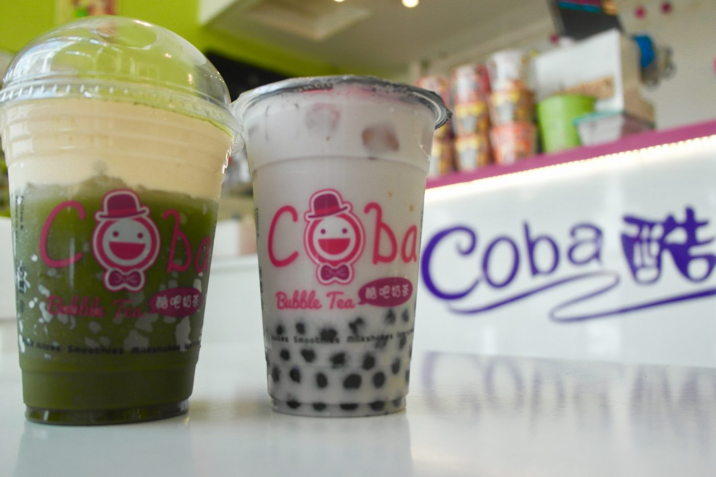 Coba Bubble Tea & Cheese Tea | Image Credit Bitten Oxford