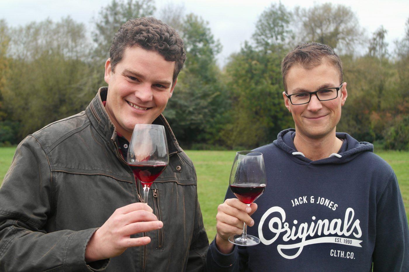 Michael Jelley and Graeme Woodward, Grape Minds Oxford   Image Credit Bitten Oxford