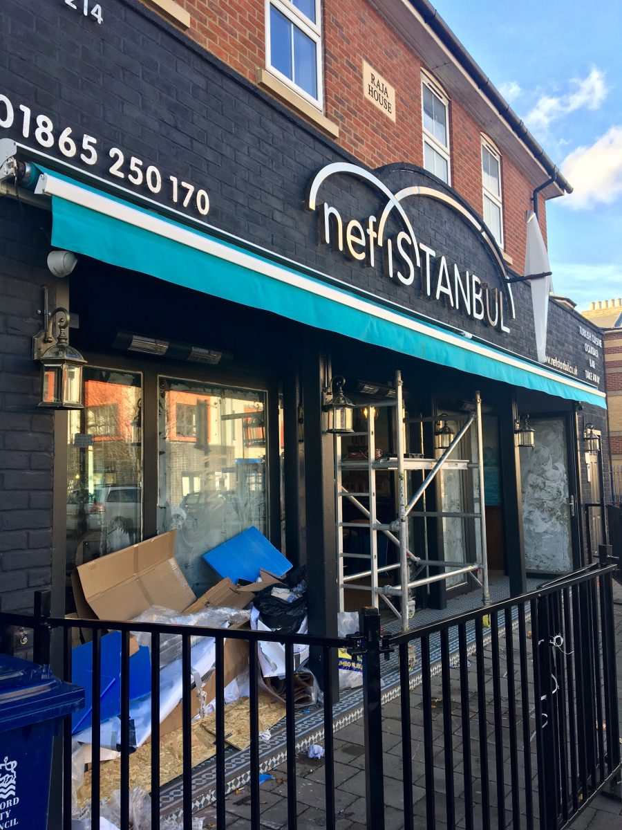 Nefistanbul, Cowley Road, Oxford | Image Credit Bitten Oxford
