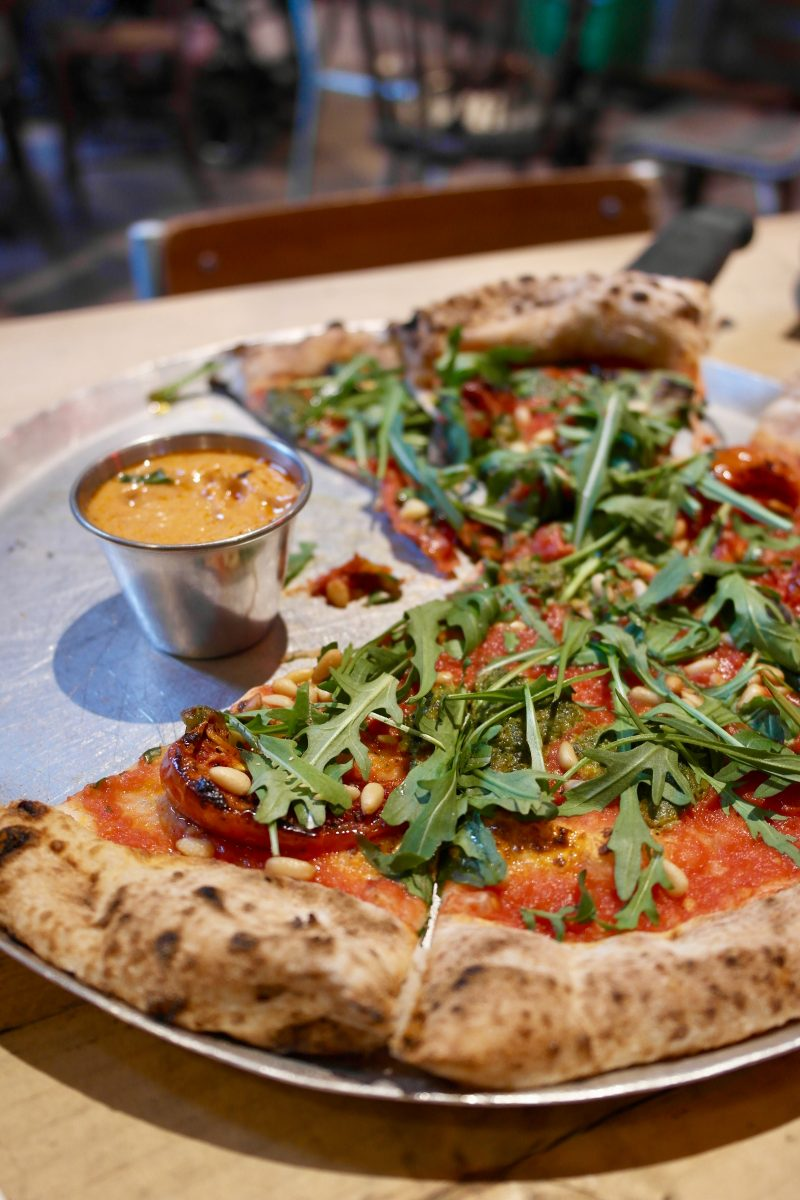 The Rusty Bicycle Oxford, Vegan Pizza | Image Credit Bitten Oxford
