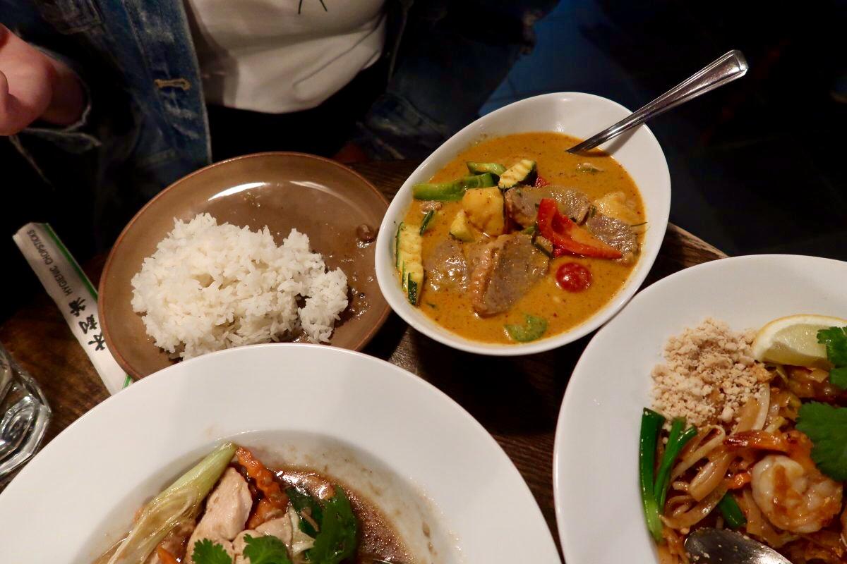The Old Tom, Thai Restaurant, Oxford   Image Bitten Oxford