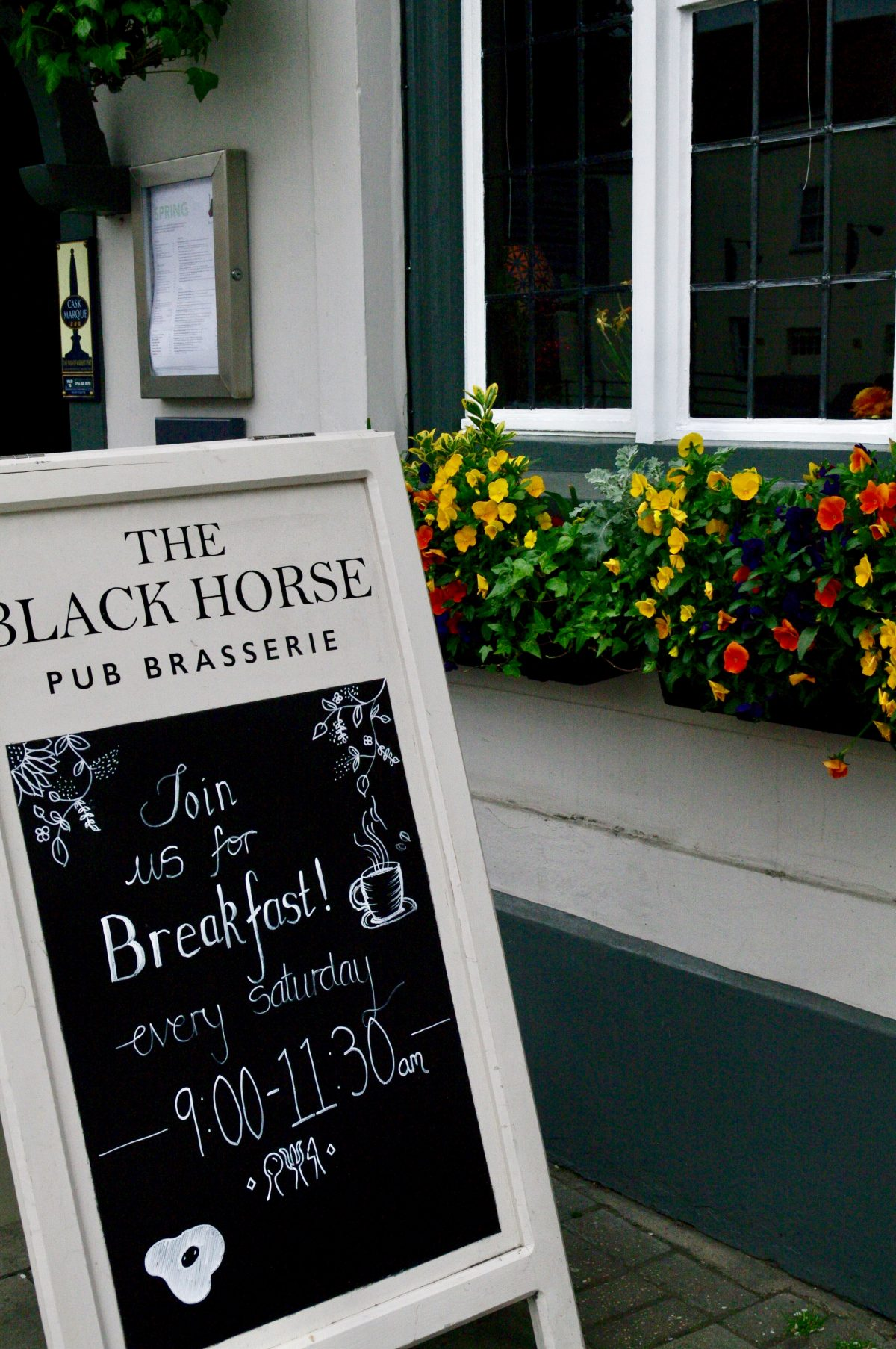 The Black Horse Thame, Oxfordshire. Breakfast Review | Bitten Oxford