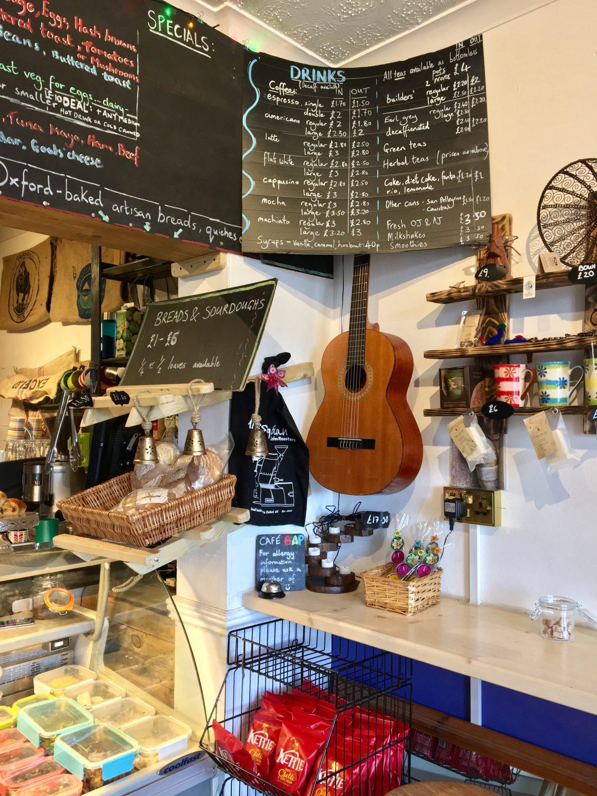 Cafe BAP Oxford | Image Credit Bitten Oxford