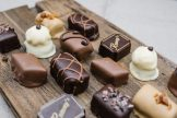 Rumsey's Chocolaterie Chocolate On Wooden Board