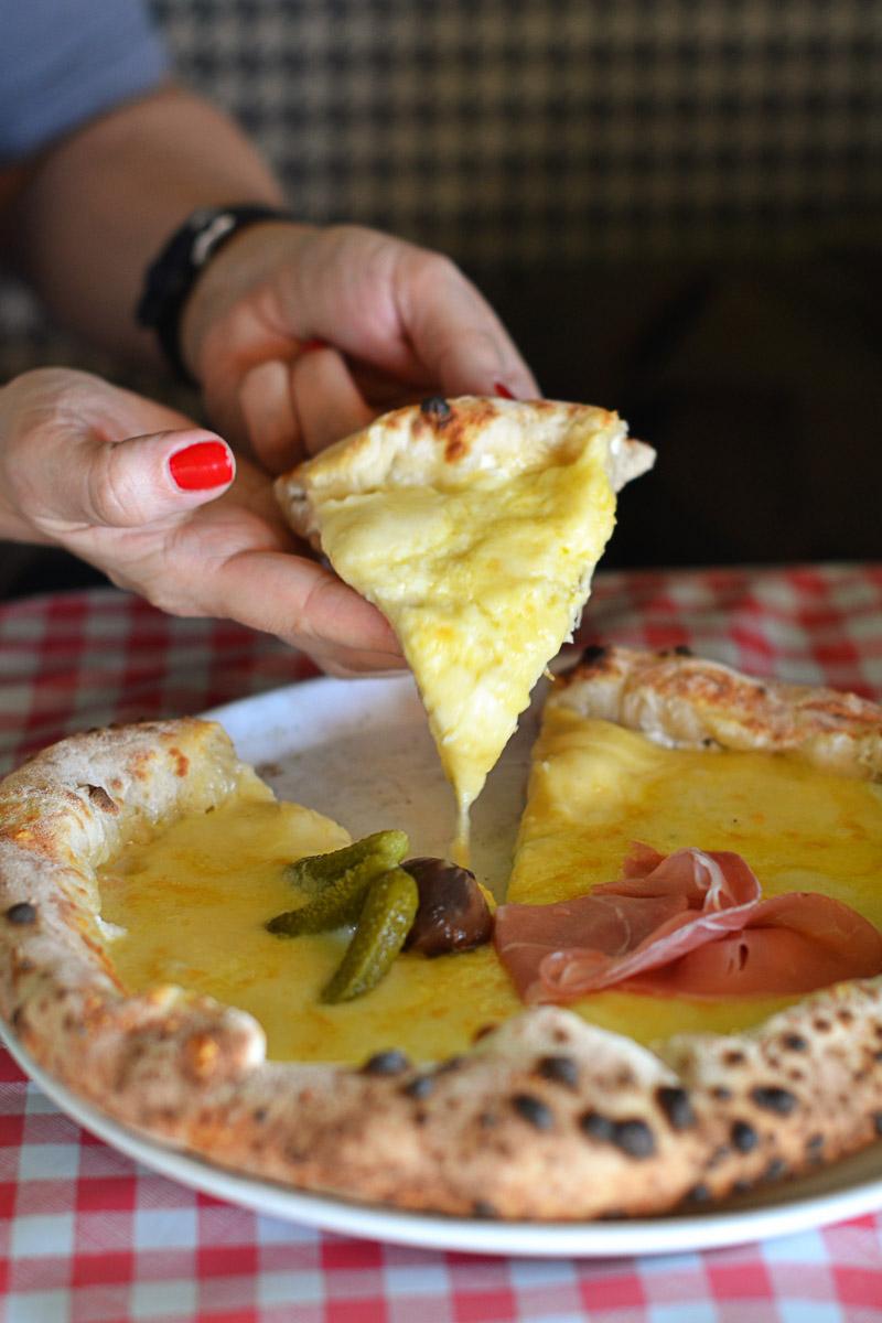 Pizza Pilgrims at Westgate Oxford - Fondue Pizza
