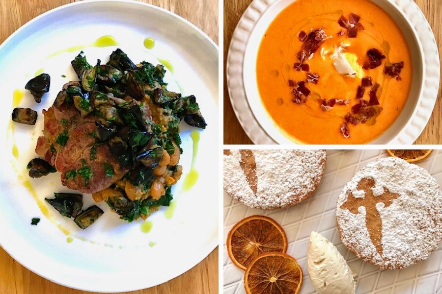Ben Gibbons Spanish Date Night recipes