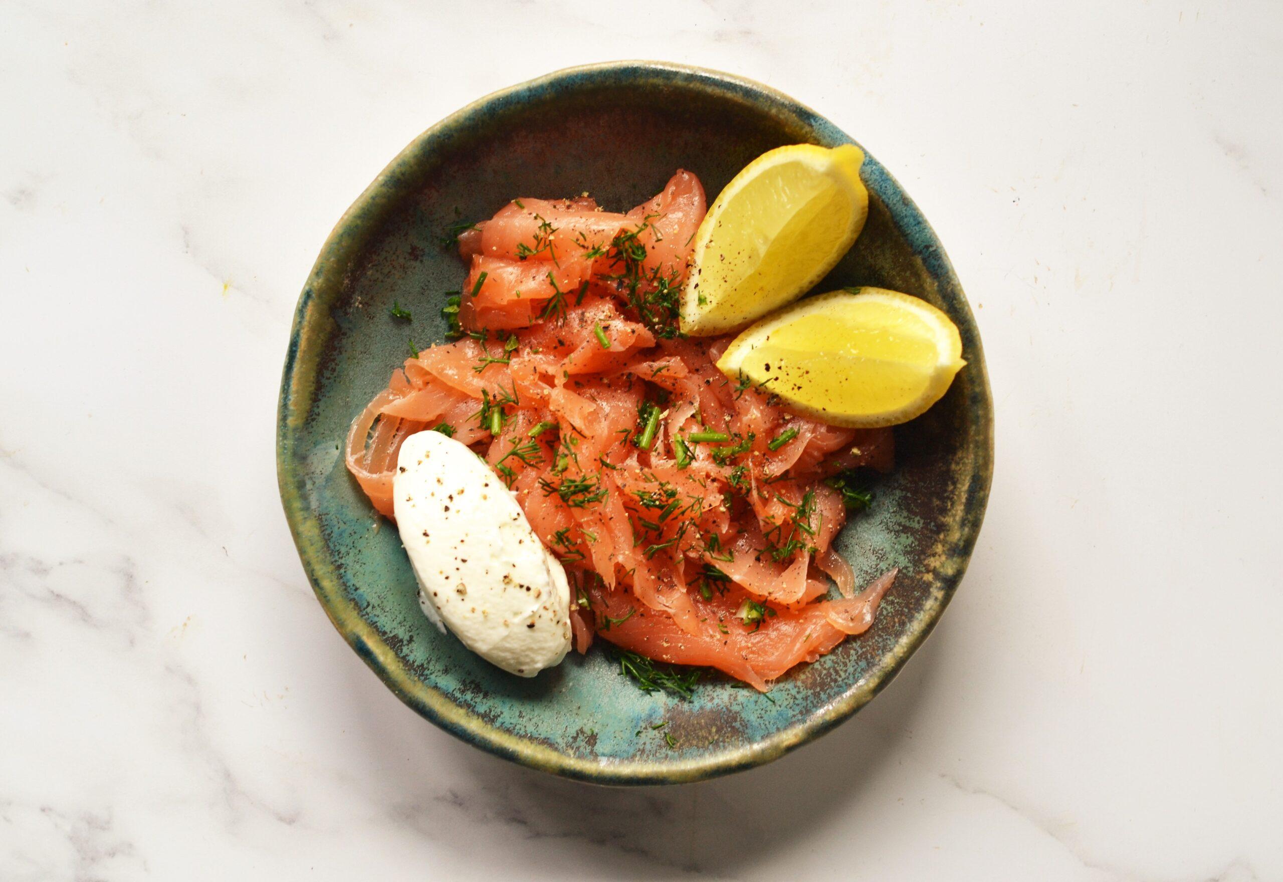 Lussmanns takeaway service smoked salmon | Image credit Bitten Oxford