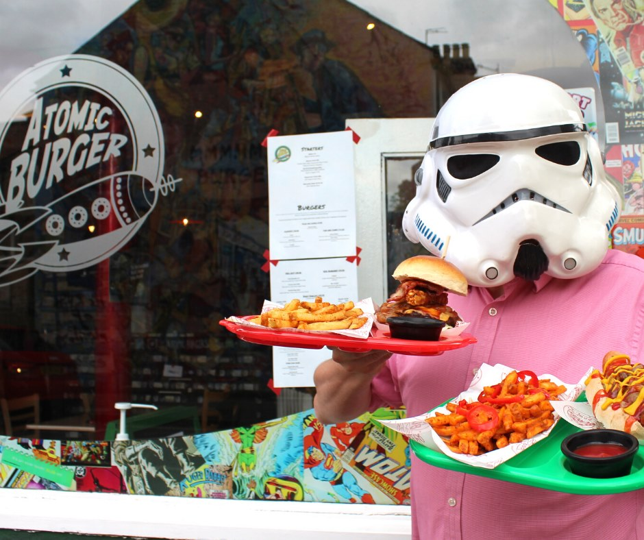 Atomic Burger - in our list of best burgers in Oxford