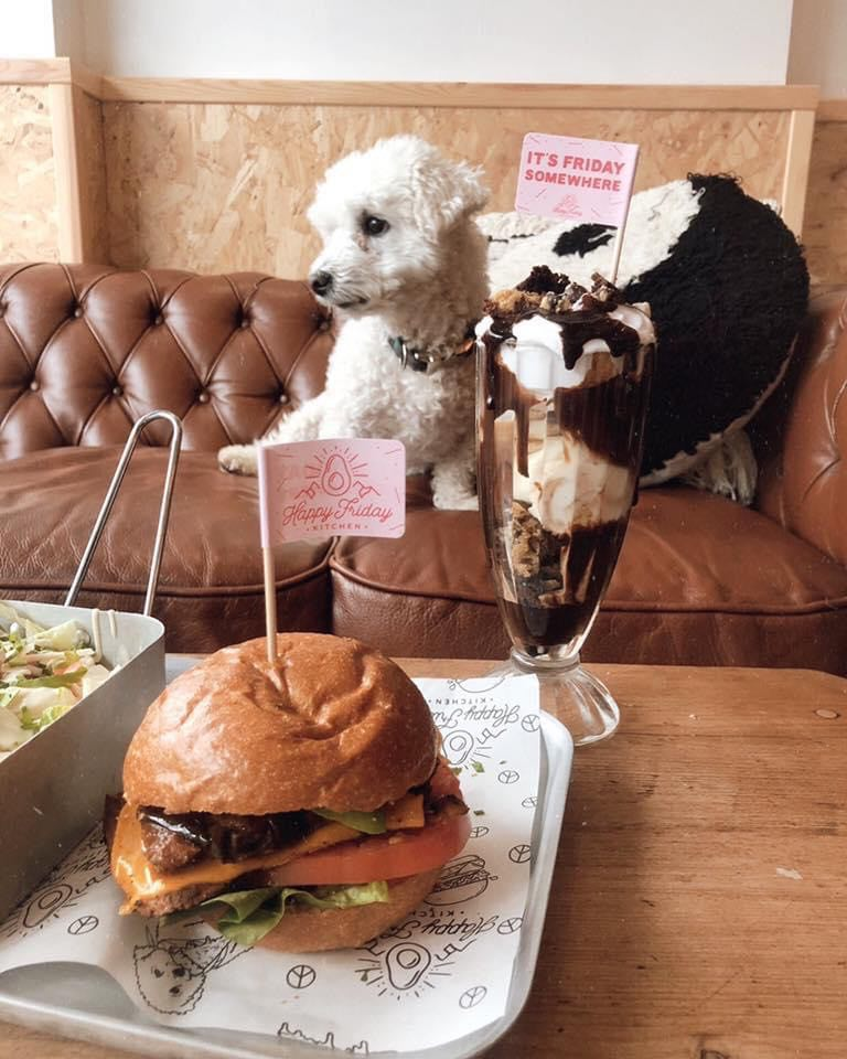 Happy Friday Kitchen - in our list of best burgers in Oxford