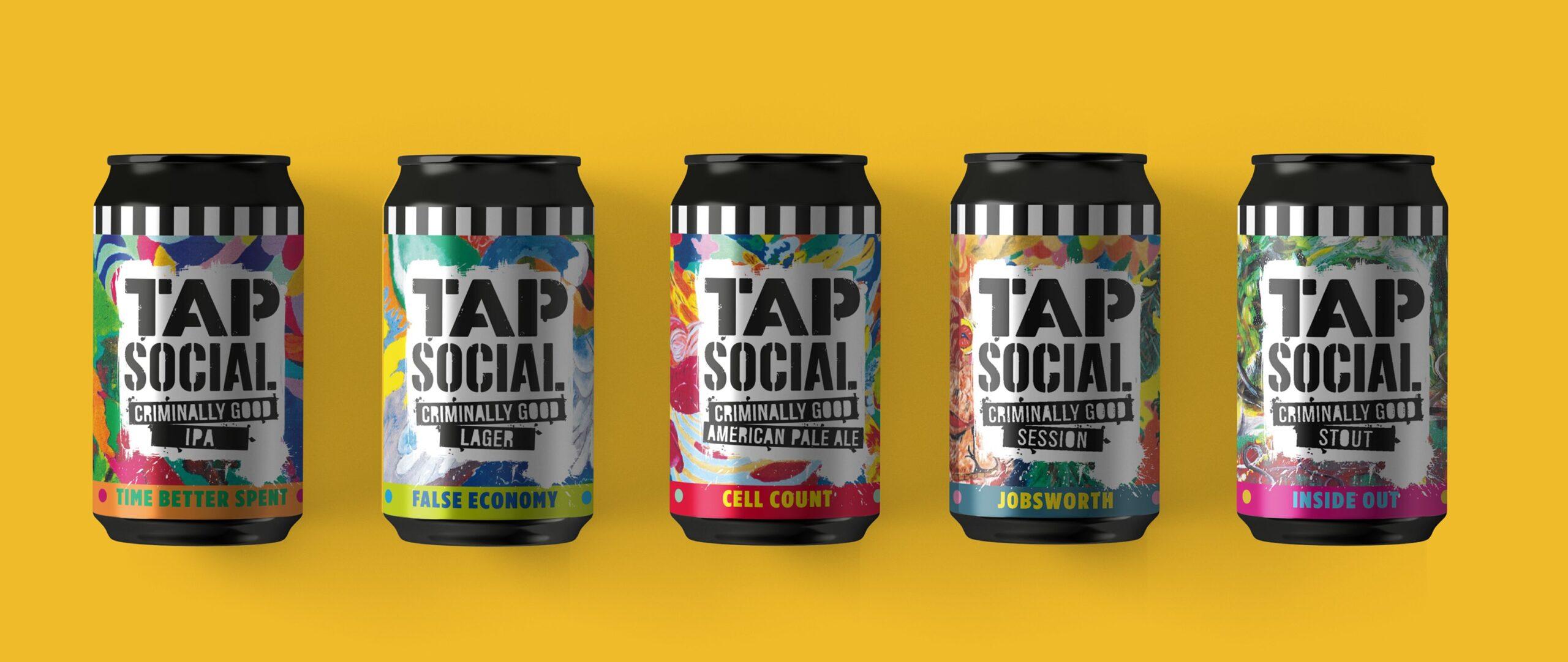 Tap Social beer range