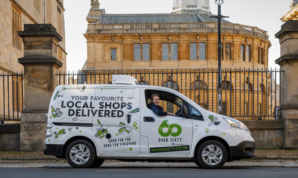 Good Sixty online ordering and deliveries now in Oxford