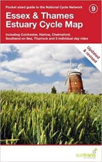 Sustrans 9 Essex and Thames Estuary Cycle Map