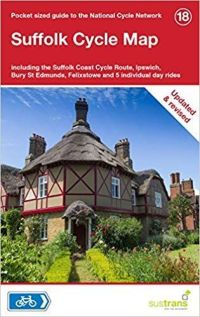 Sustrans 18 Suffolk Cycle Map
