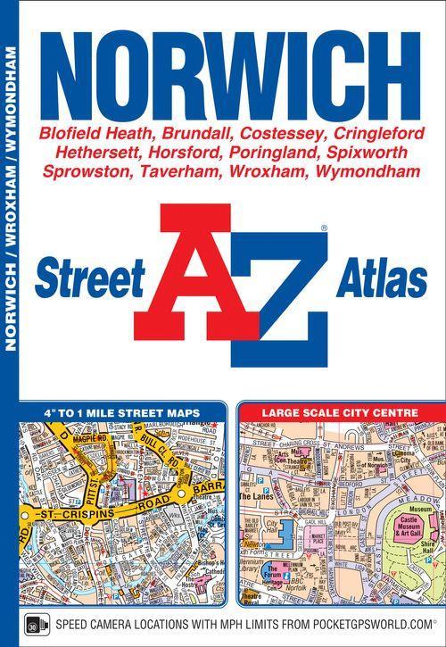 Norwich Street Atlas A-Z