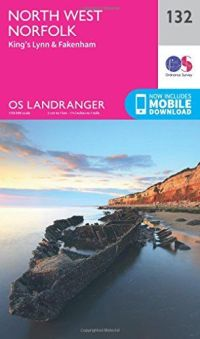 OS Landranger - 132 - North West Norfolk, King's Lynn & Fakenham