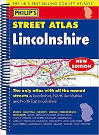 Philips Spiral Street Atlas - Lincolnshire