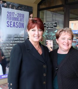 Laurie Ruffner and Jaque VanDenburg