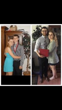 High school graduation and college graduation!