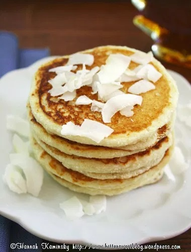 Fluffy Coconut Pancakes