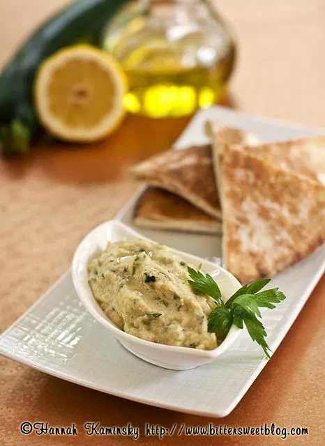 Zuke-anoush (Zucchini Baba Ganoush)
