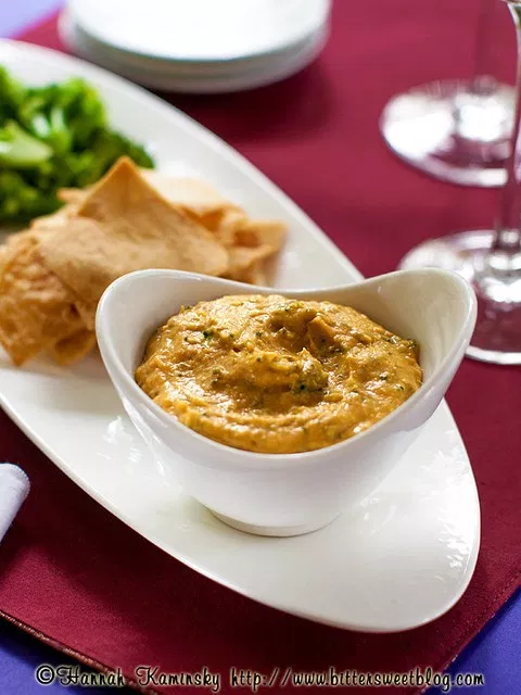 Broccoli and Cheese Hummus