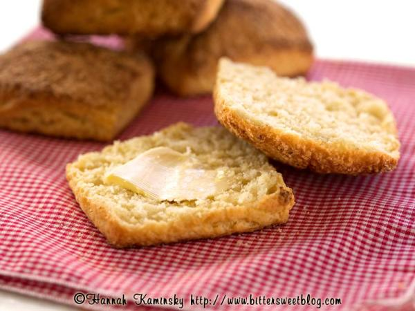Cornbread Coconut Biscuits