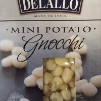 Delallo Italian Mini Potato Gnocchi, 1 Pound (Pack of 3)