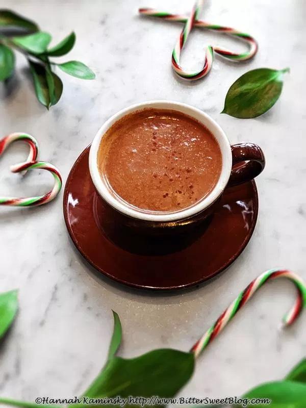 CBD Peppermint Mocha Latte