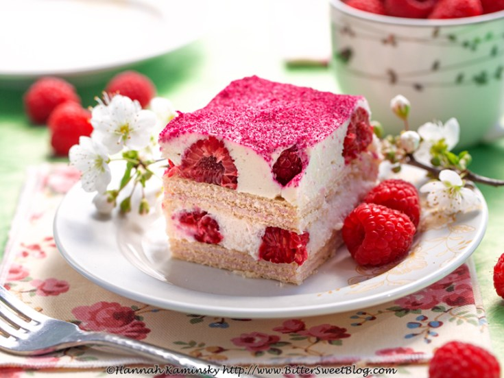 Raspberry Wafer Tiramisu