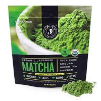 Jade Leaf Matcha Green Tea Powder - USDA Organic, Authentic Japanese Origin - Classic Culinary Grade (Smoothies, Lattes, Baking, Recipes) - Antioxidants, Energy [1 Ounce (30 Gram) Starter Size]