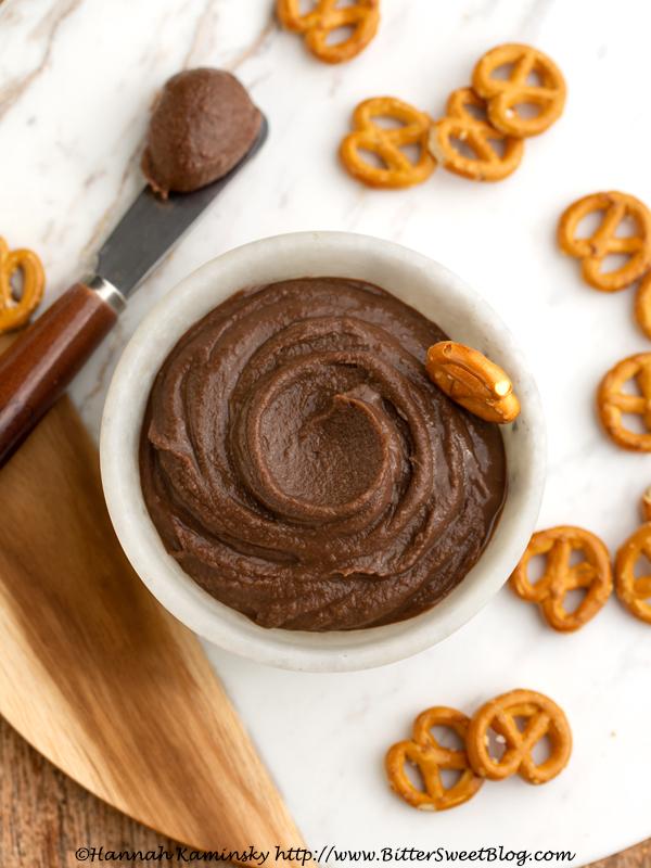 Chocolate Chickpea Spread