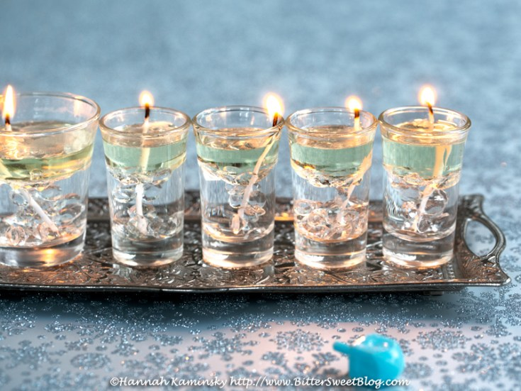 Olive Oil Menorah