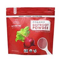 Organic Beet Root Powder (1 lb) by Naturevibe Botanicals, Raw & Non-GMO