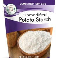 Judee's Unmodified Potato Starch (2.5 lbs) Non-GMO & Gluten Free