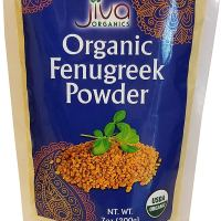 Organic Fenugreek Powder 7 Oz - Non Gmo Certified USDA Pure Organic Ground Methi Powder